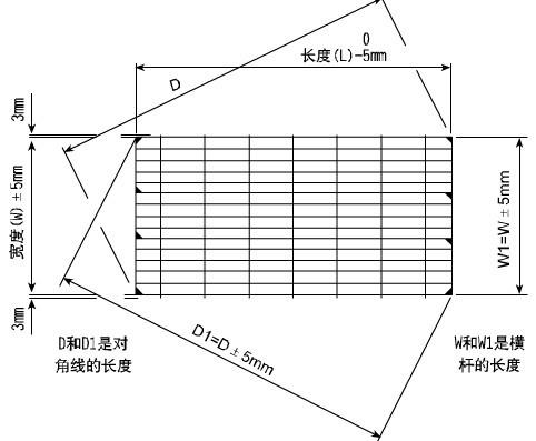 【Tolerance of steel grid plate】